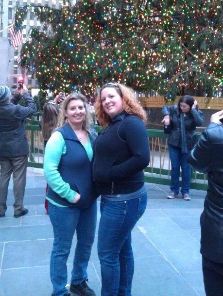 Rockefellar Center Tree, New York City, Annual Board of Realtors trip 2012.